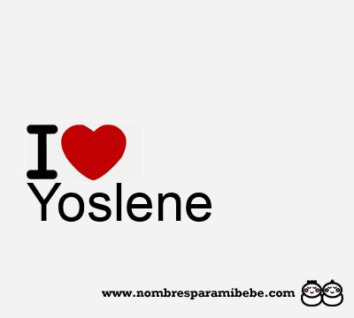 Yoslene