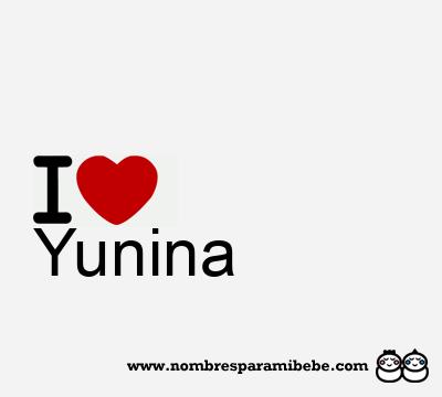 Yunina