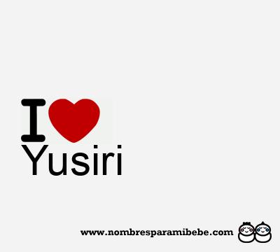 Yusiri