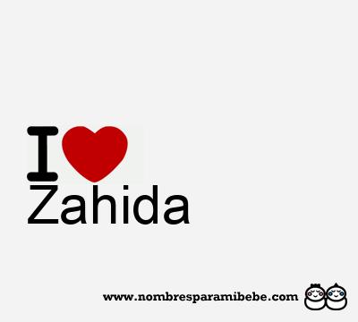 Zahida