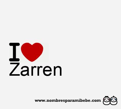 Zarren