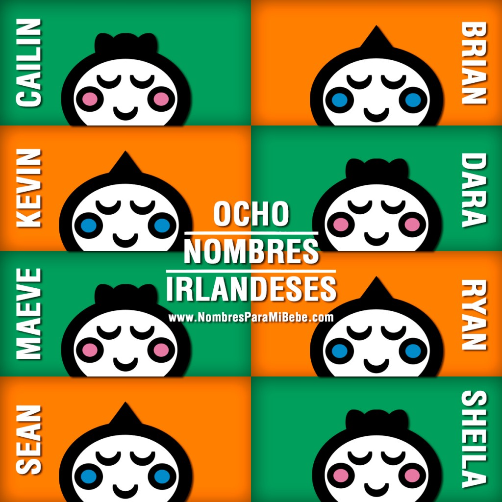 8-NOMBRES-IRLANDESES
