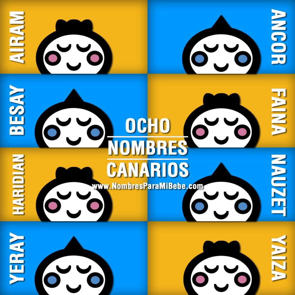 8-NOMBRES-CANARIOS