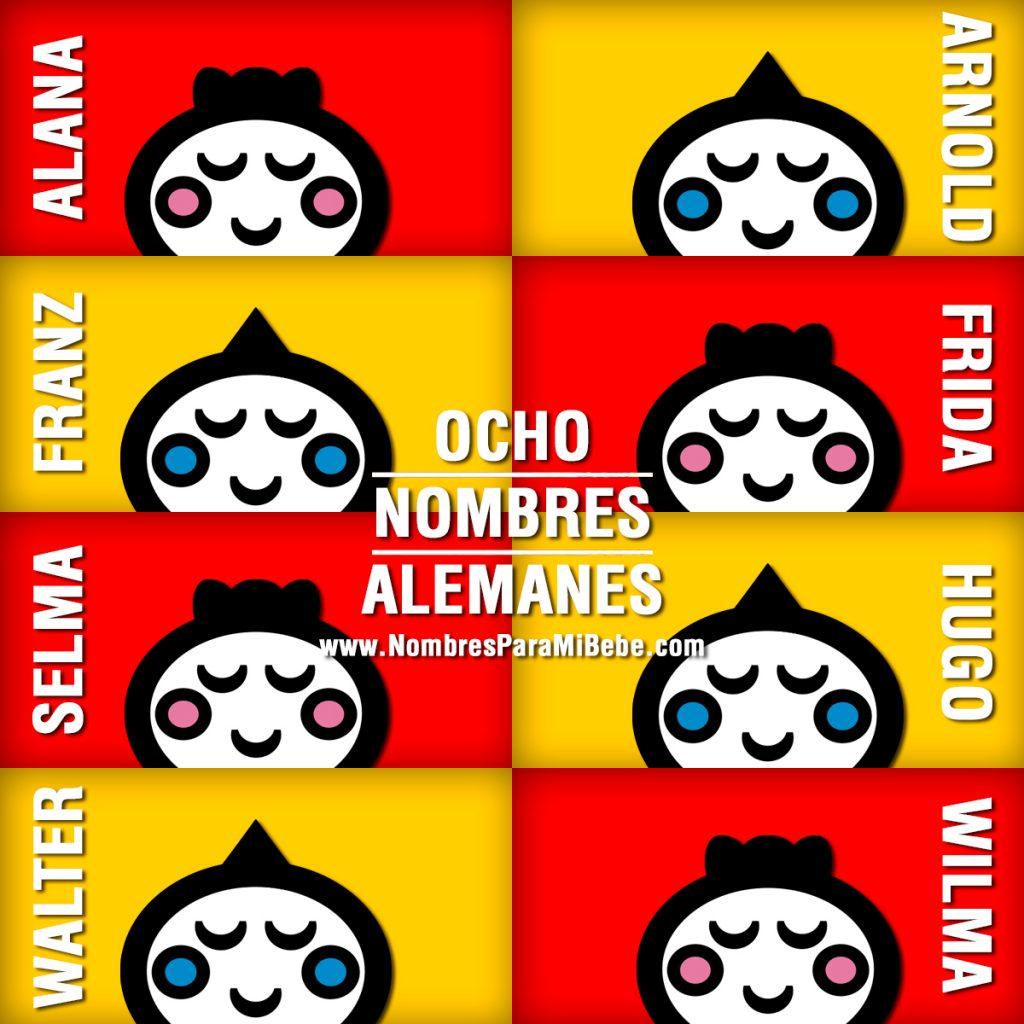 NOMBRES-ALEMANES
